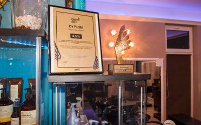 Laureat Złotych ORŁÓW Fryzjerstwa 2018